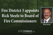 Fire District 3 appoints Rick Steele to Board of Fire Commissioners