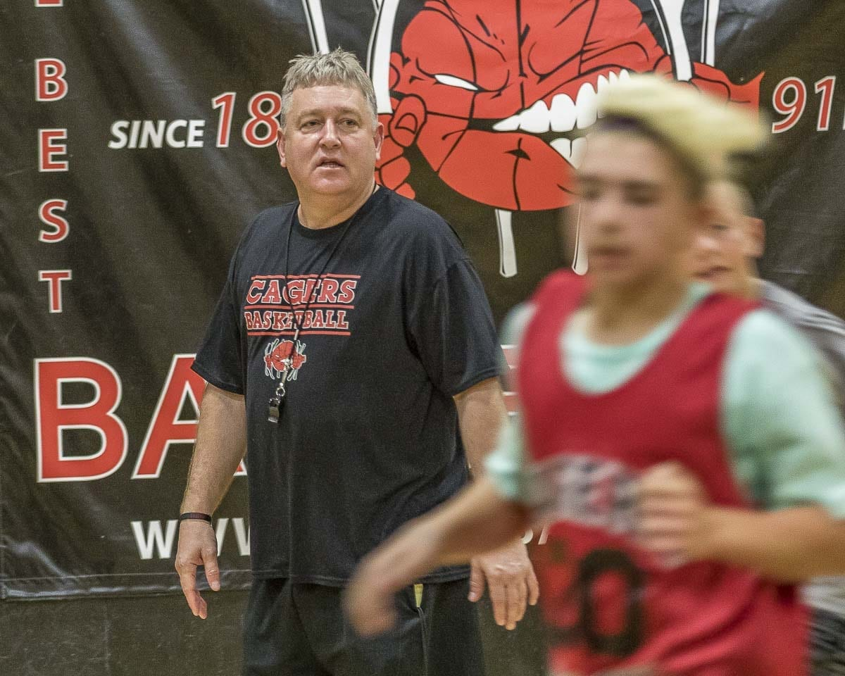 Greg Edwards' father coached Division I college basketball, his uncle was the first coach of the Portland Trail Blazers, and his mother has coached swimming for 43 years. Photo by Mike Schultz