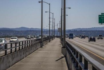 Closure of the I-205 Glenn Jackson Bridge pedestrian/bike path Tue., Oct. 16