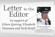 Letter: In support of Eileen Quiring, Elisabeth Veneman and Vicki Kraft