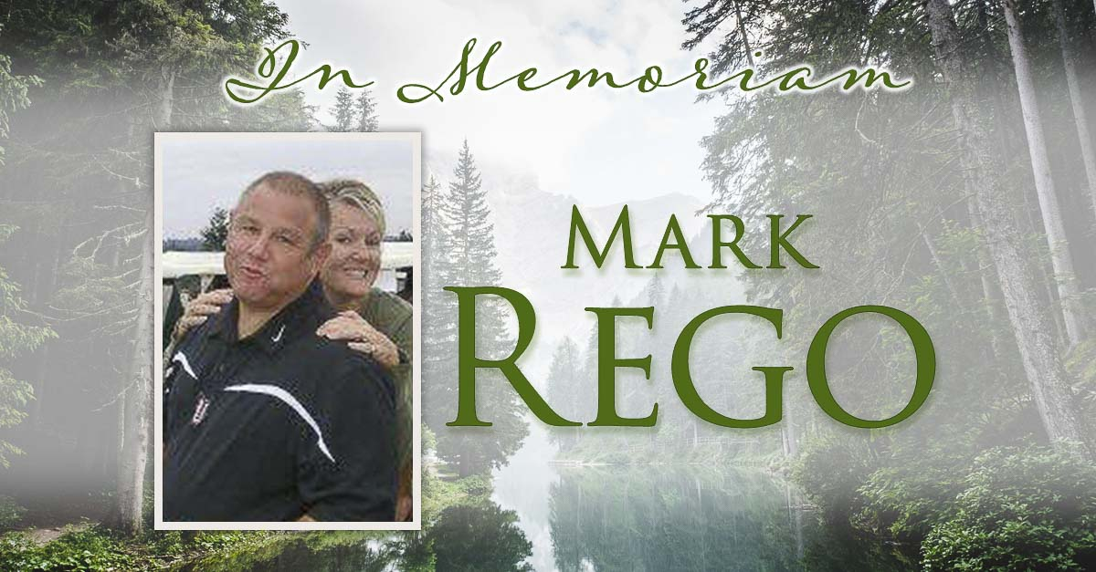 Mark Rego, the offensive line coach for the Union Titans, died Saturday morning after a battle with cancer. He coached in the Evergreen School District for decades. Photo courtesy Union Football Booster Club