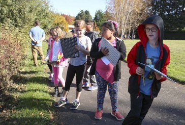 Pleasant Valley Primary third graders help endangered butterflies