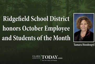 Ridgefield School District honors October Employee and Students of the Month