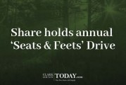 Share holds annual 'Seats & Feets' Drive