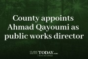 County appoints Ahmad Qayoumi as public works director