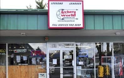 Archery World Vancouver - Photo Courtesy of Archery World