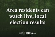 Area residents can watch live, local election results