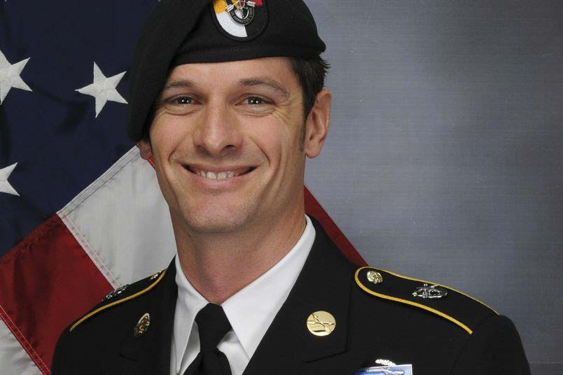 Army Sergeant 1st Class Eric Emond of Brush Prairie died this week when a roadside bomb struck his vehicle in Afghanistan. Photo courtesy U.S. Department of Defense