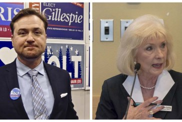 Eric Holt has an early, but narrow, lead in county chair race