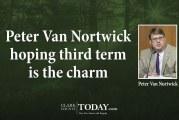 Peter Van Nortwick hoping third term is the charm