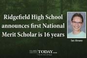 Ridgefield High School announces first National Merit Scholar is 16 years