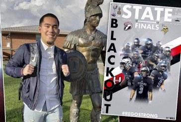 Spirit leaders: Union student uses art skills to inspire football community
