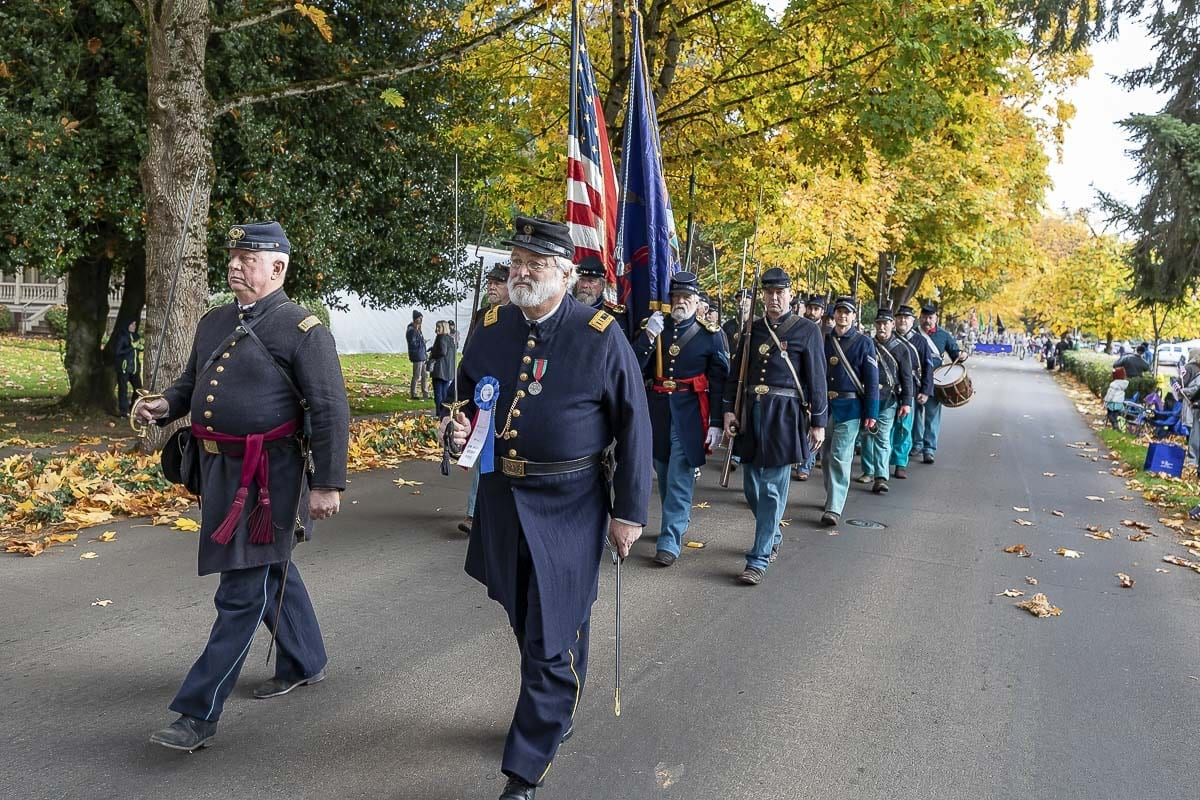 The Lough Legacy Veterans Parade in Vancouver, Washington. Photo by Mike Schultz