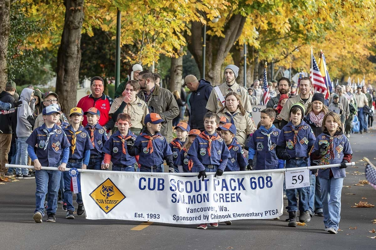 The Lough Legacy Veterans Parade • Vancouver, Washington