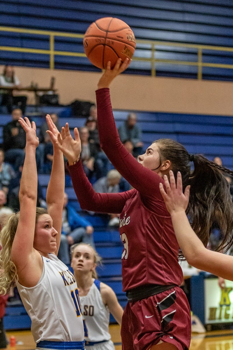 Mallory Williams is one of three seniors on Prairie's teams this season. The three seniors are sharing their experiences from the team's time in San Diego this week. Photo by Mike Schultz