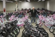 Vancouver police say more than a dozen bikes stolen from local charity