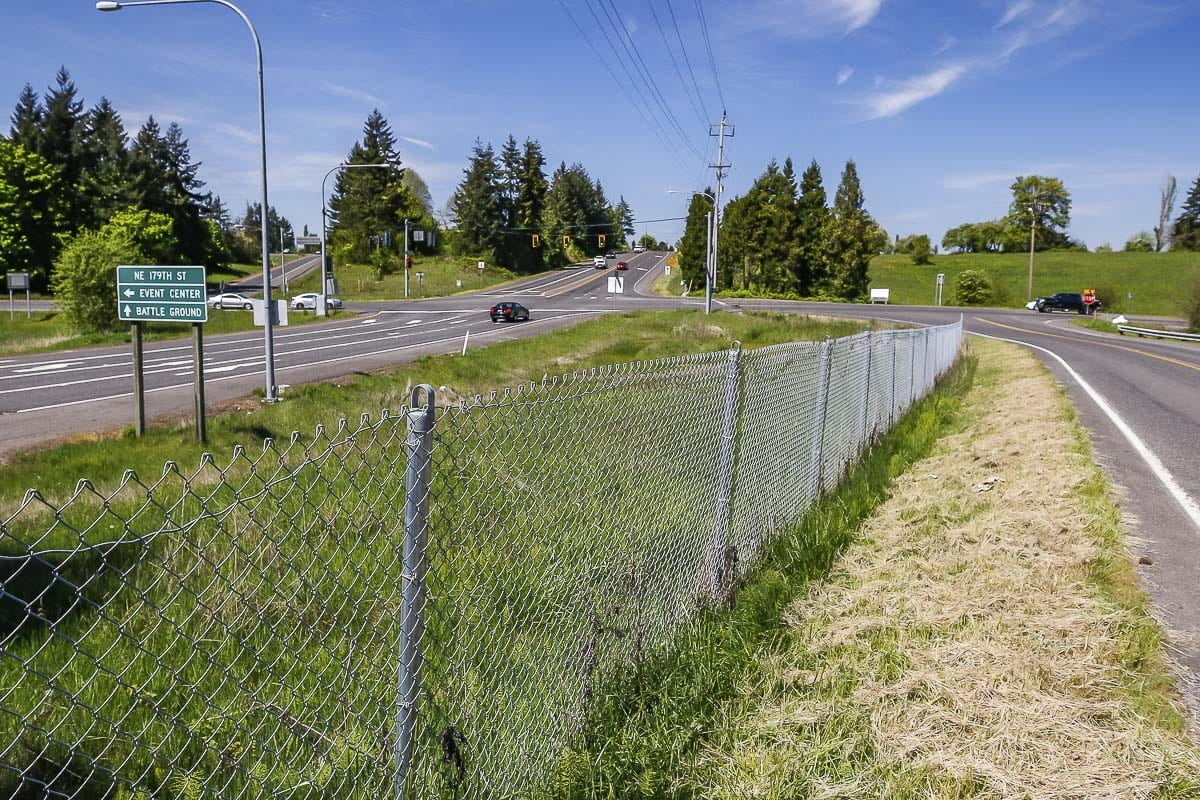 A new housing development received preliminary approval northeast of the I-5/179th Street Interchange. Photo by Mike Schultz