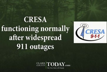 CRESA functioning normally after widespread 911 outages