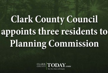 Clark County Council appoints three residents to Planning Commission