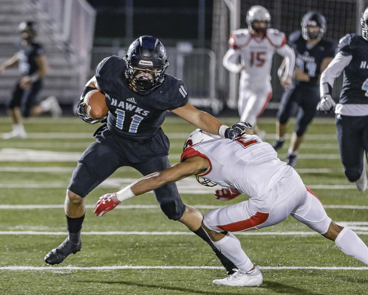 Sawyer Racanelli of Hockinson was voted the Class 2A state player of the year by The Associated Press. Photo by Mike Schultz
