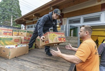 North County Community Food Bank volunteers get thousands of pounds of food to families
