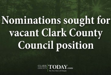 Nominations sought for vacant Clark County Council position