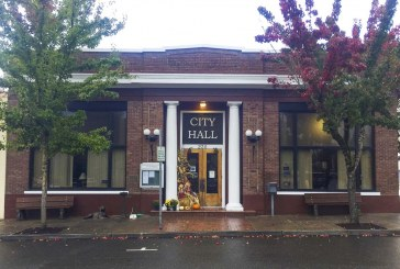 Ridgefield City Hall, Ridgefield State Bank, listed on County Heritage Register