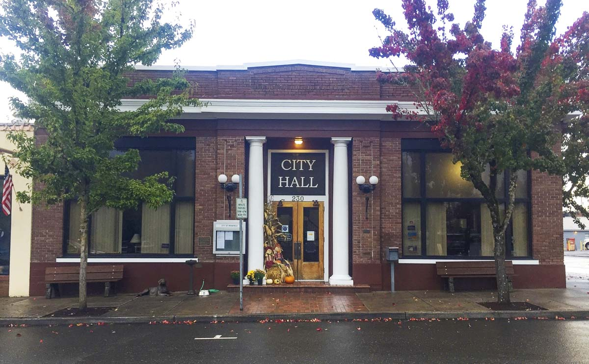 Clark County's Historic Preservation Commission has listed the Ridgefield City Hall building to the Clark County Heritage Register. Photo courtesy of Clark County WA Communications