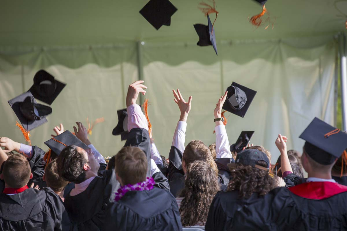 Vancouver and Evergreen School Districts reported increases in graduation rates this week. Stock photo