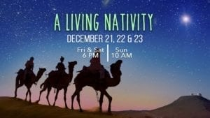Living Hope Church in Vancouver, will debut this year's living nativity this weekend before Christmas Eve.