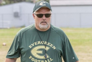 Big change at Evergreen football
