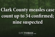 Clark County measles case count up to 35 confirmed; 11 suspected