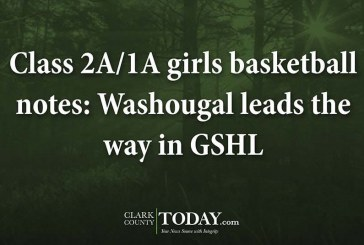 Class 2A/1A girls basketball notes: Washougal leads the way in GSHL