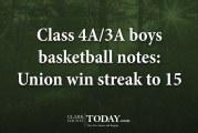 Class 4A/3A boys basketball notes: Union win streak to 15