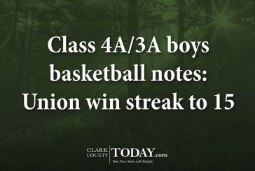 Class 4A/3A boys basketball notes: Union win streak to 15