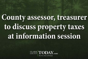 County assessor, treasurer to discuss property taxes at information session