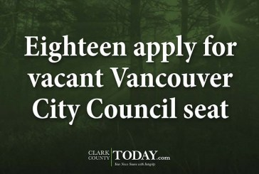 Eighteen apply for vacant Vancouver City Council seat