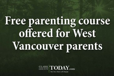 Free parenting course offered for West Vancouver parents
