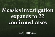 Measles investigation expands to 22 confirmed cases