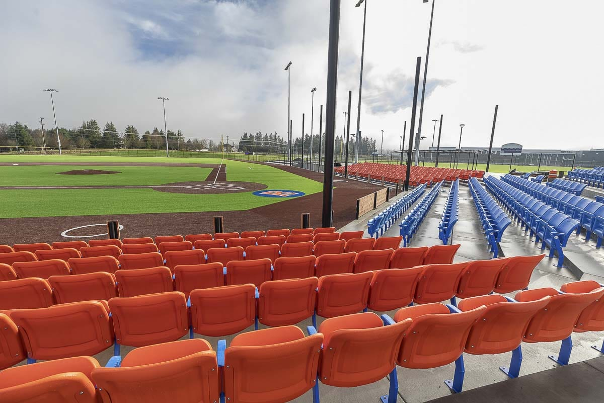 Roughly two-thirds of the premium seats have been sold already, according to Gus Farah, the general manager of the Ridgefield Raptors. Photo by Mike Schultz