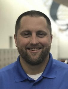 Scott Rice, who has been an assistant coach at Skyview for five seasons, has been named the head football coach at Ridgefield High School. Photo courtesy of Scott Rice