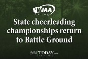 State cheerleading championships return to Battle Ground