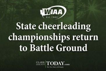 State cheerleading championships return to Battle Ground