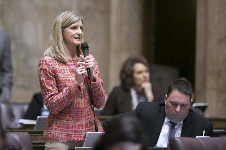 Rep. Vicki Kraft, shown here in last year's state legislative session, was recently named the ranking Republican on the House Local Government Committee. Photo courtesy of Washington State House Republican Communications