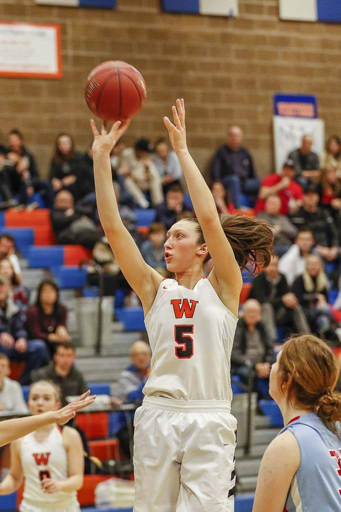 Beyonce Bea, shown here last season, is hoping to lead Washougal to the state tournament for the fourth consecutive season. Photo by Mike Schultz