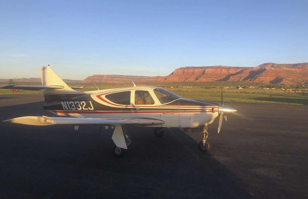 George Regis took off in this airplane from Grove Field Airport in Camas around noon on Friday (Jan. 25). He has not been seen or heard from since. Photo courtesy of Clark County Sheriff's Office