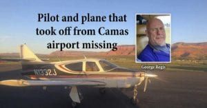 George Regis and his missing plane were located Tuesday on the south side of Mount Hood. Regis had died in the crash.