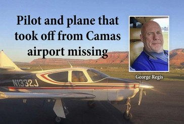 Pilot and plane that took off from Camas airport missing