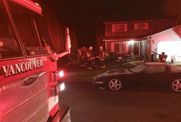 House fire displaces six in Vancouver
