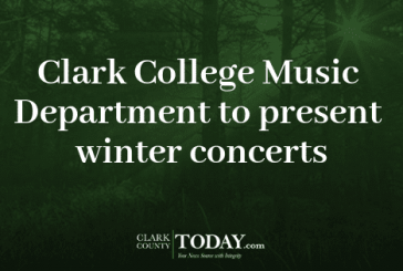 Clark College Music Department to present winter concerts